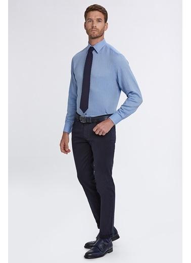 Hemington Slim Fit 5 Cep Pantolon Lacivert